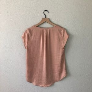 H&M Tops - H&M Blush Pink Silky Blouse